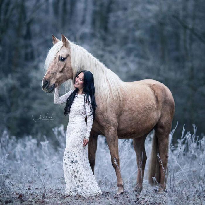 Shooting Pferdefotografie - Alisa Konrad in und um Würzburg