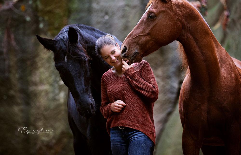 Pferdefotografin Alisa Konrad aus Würzburg, Foto von Equigraphie by Heid